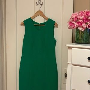 The Limited Crepe Dress